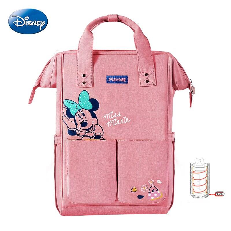 Sac momie Disney sacs d'isolation de mode sac à dos de voyage de grande capacité sac à dos multifonction Double épaule sac à dos biberon