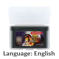 32 Bit Video Game Cartridge Shaman King Master of Spirits 2 Console Card EU Version English Language Support Drop Shipping