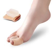 1Pair Silicone Bandage Foot Care Bunion Protector Toe Separators Straightener Correctors Hallux Valgus Correction Pedicure Tools Skin Care