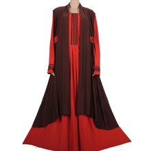 Muslim abaya dress Islamic clothes for women hijab long dress turkish abaya kaftan dubai muslim abaya dress 4387