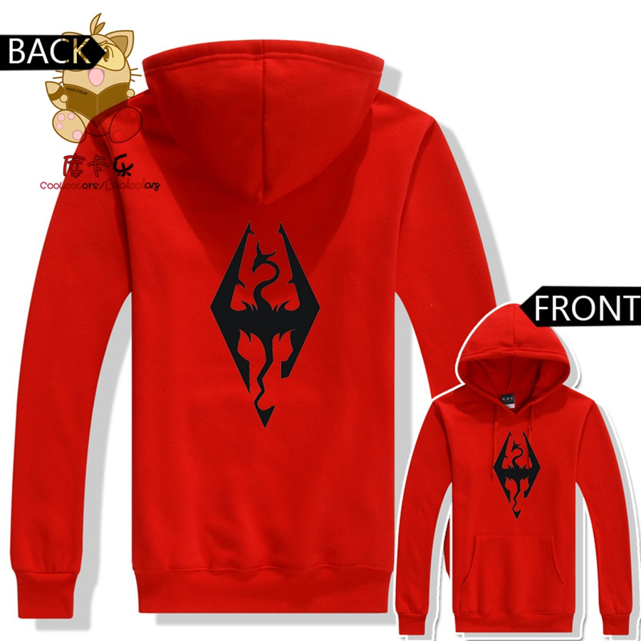 The Elder Scrolls game fans warm costume game fans costume The Elder Scrolls hoodies ac236 image