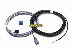 ОЕМ камера заднего вида кабель жгут проводов для MIB радиоприемник Jetta MK7 MK6 TIGUAN KODIAQ Vento