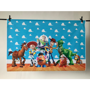 Image 4 - Photography backdrops Cartoon toy story candy Children Birthday party Studio Background Customize backgrounds for photo studio