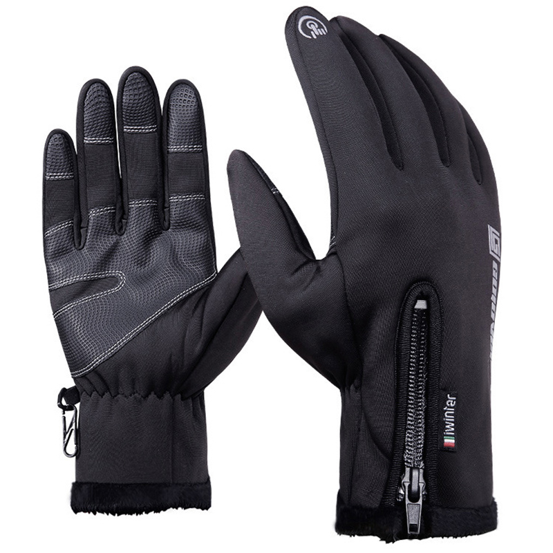Touch Screen Gloves touchscreen bq Waterproof & Windproof Winter Warm Gloves For Outdoors, Cycling, Running, driving