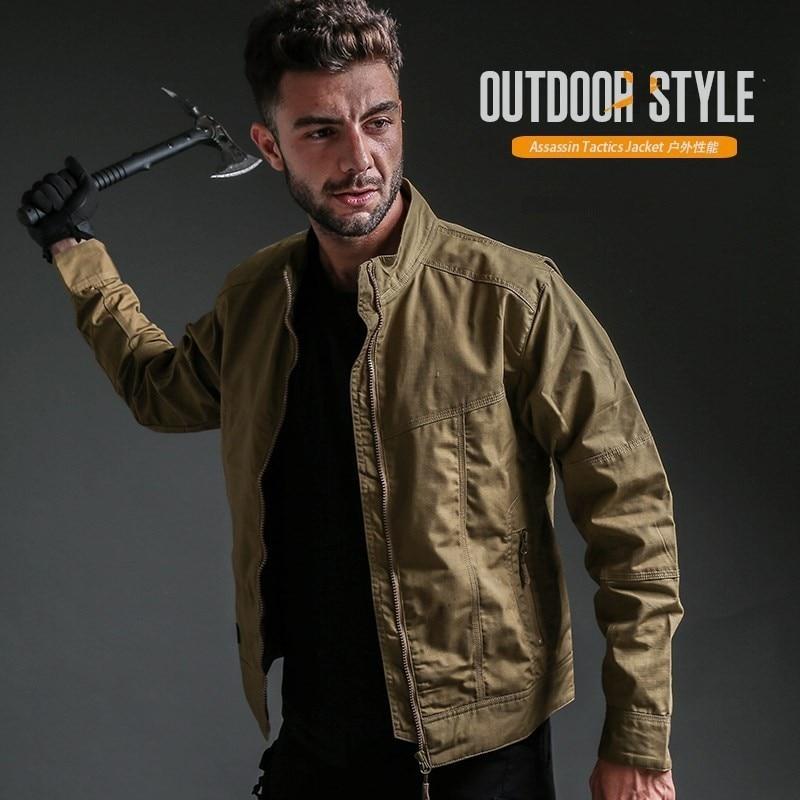 Sports de plein air Camping veste en coquille souple hommes coupe-vent séchage rapide pêche Anti-UV vêtements escalade randonnée peau manteau crème solaire - 4