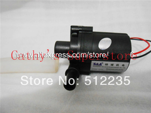 Brushless DC Water Pump P2430 24VDC 25W 8.5L/min for the CW3000 Chiller laser machine 8 l min electric diaphragm 12v dc mini air pump brush