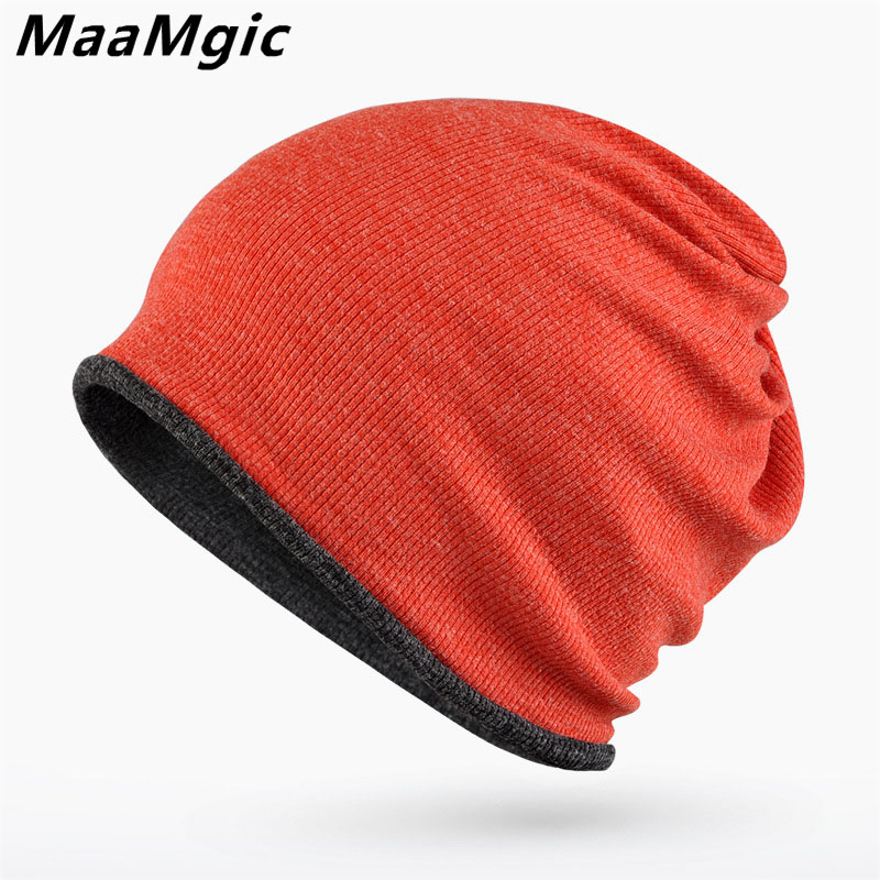 2017New Fashion Winter Hats for Women Men Knitted Beanie Warm Hat Cap for Girls Boy Wool Scarf Hat Female Male Couples Sport Hat 2017 new wool grey beanie hat for women warm simple style bad hair day knitting winter wooly hats online ds20170123 x24