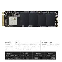 M.2 SSD PCIe NVMe M.2 SSD 1 ТБ жесткий диск 1024 ГБ M.2 NVMe pcie m2 SSD внутренний жесткий диск для MSI Тетрадь/Thinkpad P50
