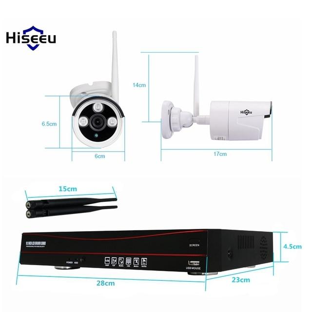 4CH 8CH 720P 960P 10 Inch Displayer Wireless CCTV System NVR IP Camera IR-CUT Bullet CCTV Home Security System CCTV Kit