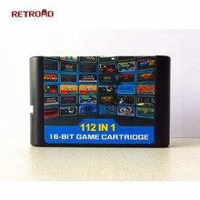 Последний 112 в 1 и 126 в 1 игровой картридж 16 бит MD игровая карта для sega Mega Drive для sega Genesis, только для оригинальной консоли