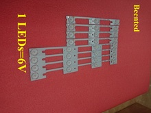 Nouveau 100 pièces (50*3 LED * 6 V + 50*4 LED * 6 V) LED bande de rétro éclairage pour KDL32MT626U 35019055 35019056