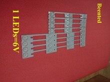 Nowy 100 sztuk (50 * 3LED * 6 V + 50 * 4LED * 6 V) podświetlenie LED strip dla KDL32MT626U 35019055 35019056