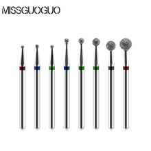 MISSGUOGUO Nail Art Electric Nail Drill Bits Manicure Cutters Drill Bits for Manicure Machine Nail Art Drilling Accessories Tips