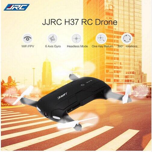 Bolsillo selfie drone jjrc h37 elife fold portable fotografía wifi fpv con $ num