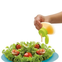 1 PC Silicone Salad Dressing Bottle Easy Bring Outdoor Dinner Seasoning Box Kitchen Accessory Home Supplies