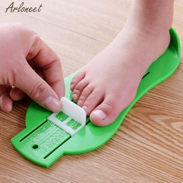 2018 đôi giày mùa hè trẻ em Trẻ Em Bé Chân Giày Kích Thước Đo Công Cụ Trẻ Sơ Sinh Thiết Bị Cai Trị Kit JAN23