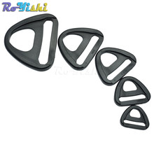 Adjuster dengan bar Putar Klip plastik D-ring Loop Insert Gesper Tali Ransel(China)