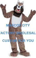 Hot Sale Forest Animal Mascot Chipmunk Mascot Costume Adult Size Cartoon Character Carnival Party Outfit Suit Fancy Dress SW843