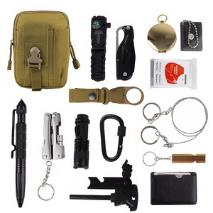 15 in 1 survival kit Set Outdo