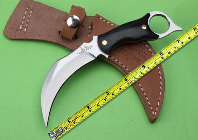 5Cr13 Blade Micarta Handle Small Hunting font b Knife b font United Karambit font b Tactical