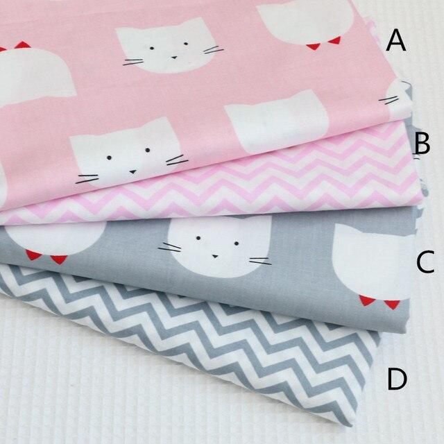 Finest Cm X Cm Katze Rosa Grau Baby Bettwsche Bettwsche Baumwolle Tecidos  With Bettwsche Rosa Grau With Trkise Bettwsche