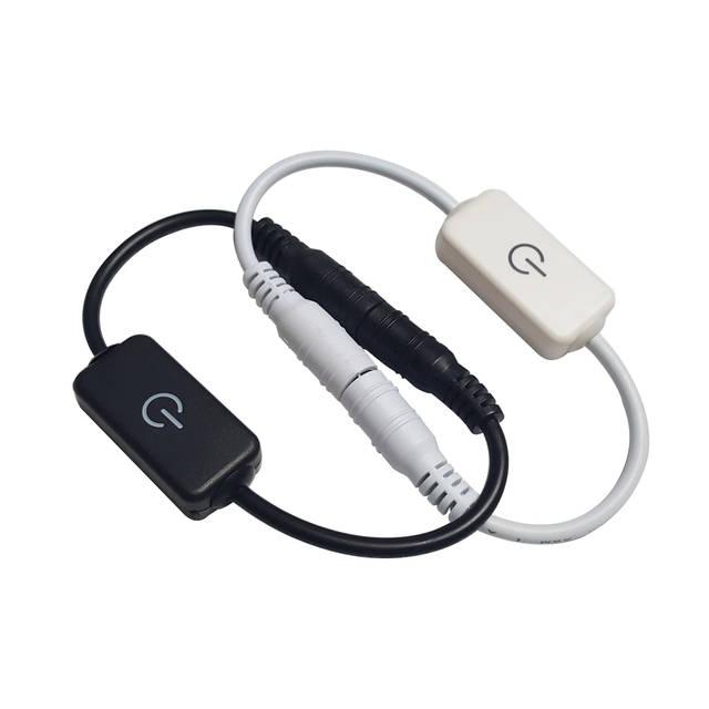 12v Dimmer Switch >> Led Strip Touch Dimmer Brightness Control Led Dimmer Switch 1keys Dimmer 12v 24v Light Switch Adjustment 3528 5050 5630