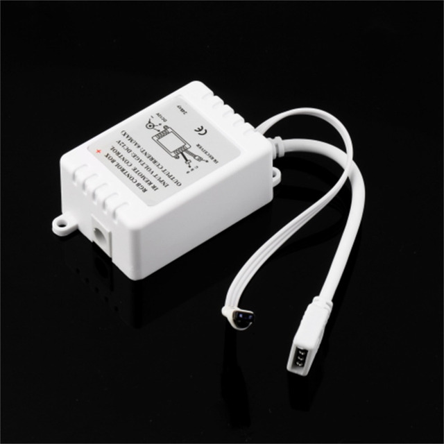 1 set DC 12 V 24 Toetsen IR Duurzaam Remote Controller Box voor SMD 3528 5050 RGB LED Light Strip