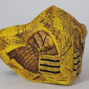 Image 4 - モータルコンバット × マスクコスプレサソリハロウィンパーティーマスク