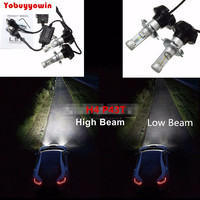 H4 Dual Beam 120W 9000LM Philipszes Lumileds High Power Car Led headlight Kit Canbus No Error(H7 H8 H11 H16 9005 9006 9004 9007