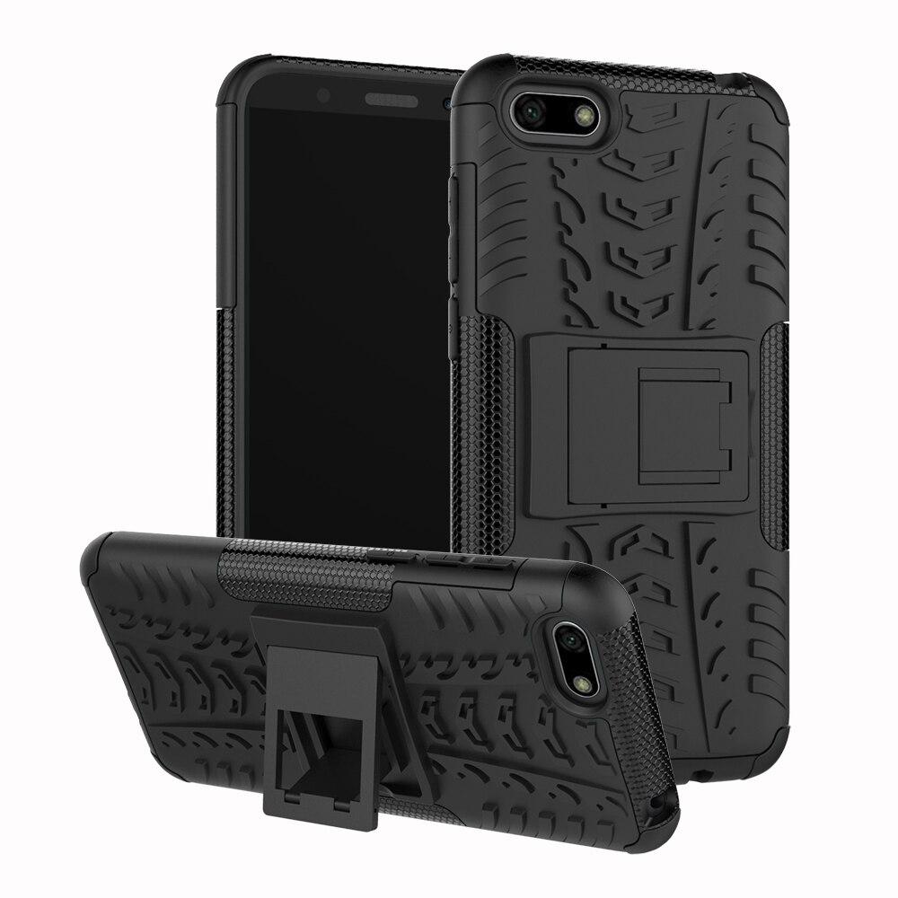 6c3066b221c2 Para Huawei Y5 Lite 2018 caso TPU + PC pesado armadura duro cubierta de la  caja del teléfono de silicona para Huawei Y5 lite 2018 DRA-LX5 Y5Lite ...