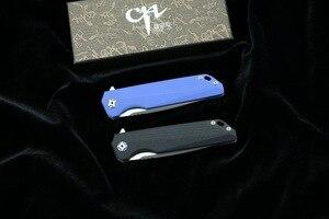 Image 5 - Cuchillo D2 CH 3007/3507, cuchillo plegable abatible con rodamiento de bolas, mango G10, para Camping/caza/al aire libre/bolsillo/cuchillo de supervivencia EDC