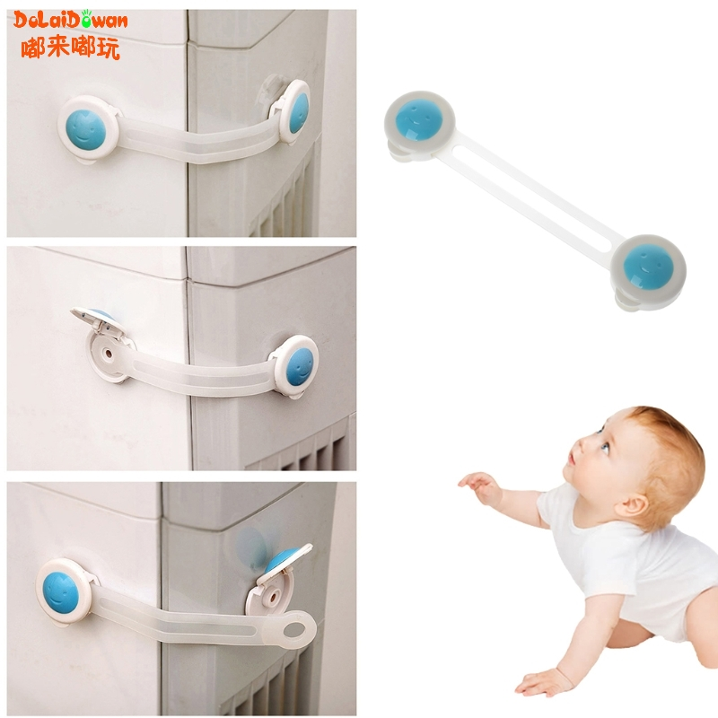 Baby Child Safety Locks Drawer Door Cabinet Cupboard Strap Protection Care Safety Lock New Arrival 2018