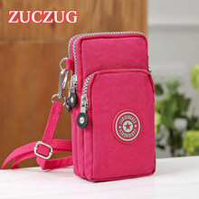 ZUCZUG Universal New Sports Wallet Mobile Phone Bag For iPhone Xs X Samsung S9 Huawei Pocket Bag Outdoor Arm Shoulder Cover Case(China)