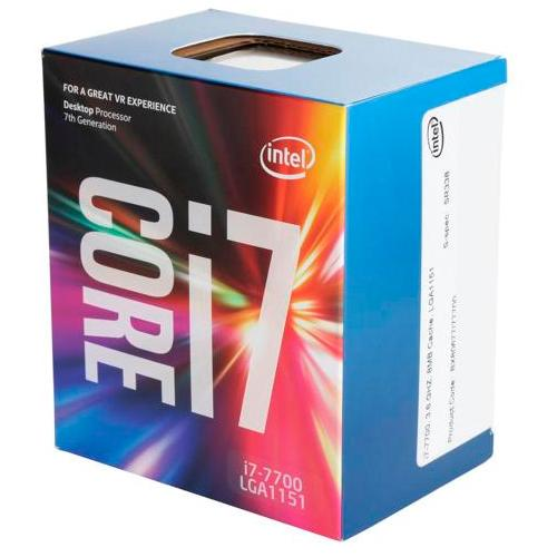 CPU <font><b>Intel</b></font> <font><b>I7</b></font> <font><b>7700</b></font> Socket 1151 Kaby Lake 7ªgn 3.6 GHz 8 m Quad Core IGPU 65 W image