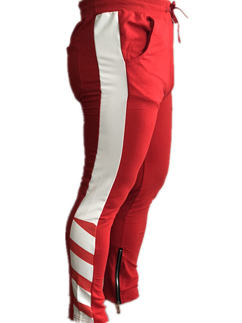2020 New sweatpants Men's solid workout bodybuilding clothing casual GYMS fitness sweatpants joggers trousers Pencil pants 5