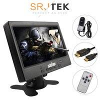 SRJTEK 7 HD LCD 1024*600 Mini Computer TV Display Capacitive Touch Screen HDMI LCD Monitor Driver Board HDMI VGA Audio Case