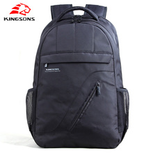 Kingsons Women Laptop Backpack Black Men Bagpack Women Classic Mochila Bag Boy's Rucksack School Bags for Teenagers journey luggage
