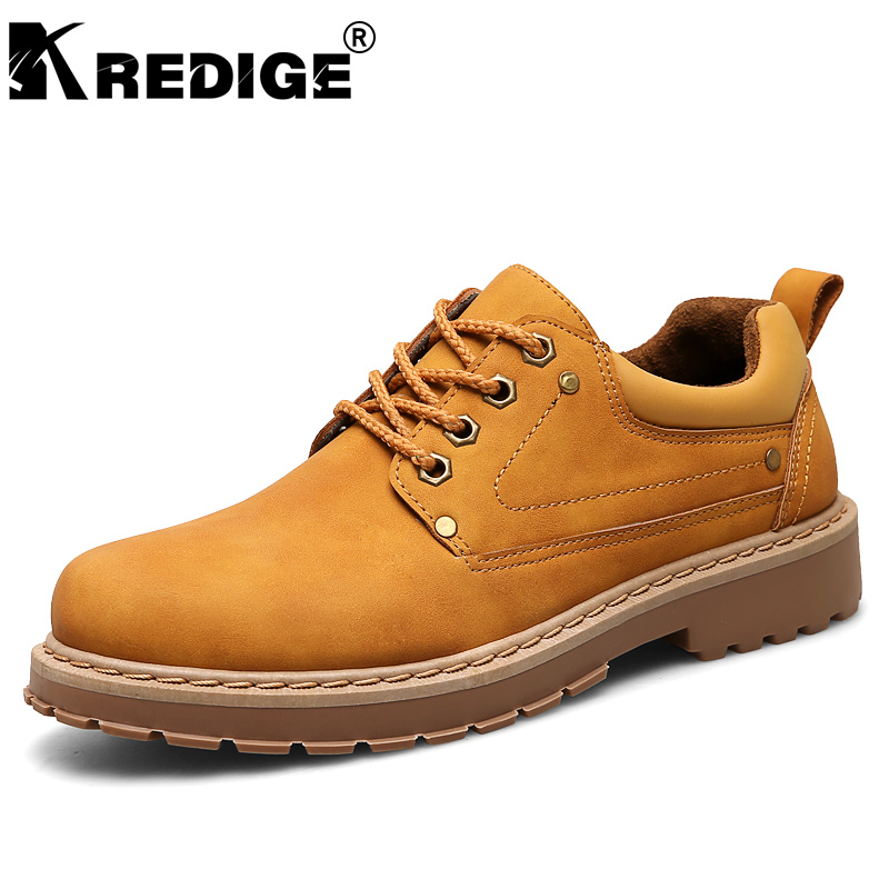 KREDIGE Breathable Lace-Up Men Shoes Waterproof PU Non-Slip Soles Low Casual Shoes Height Increasing Male Shoes Big Size 39-44 kredige anti odor zip tide leather shoes hard wearing mens casual shoes pu breathable waterproof plate shoes british style 39 44