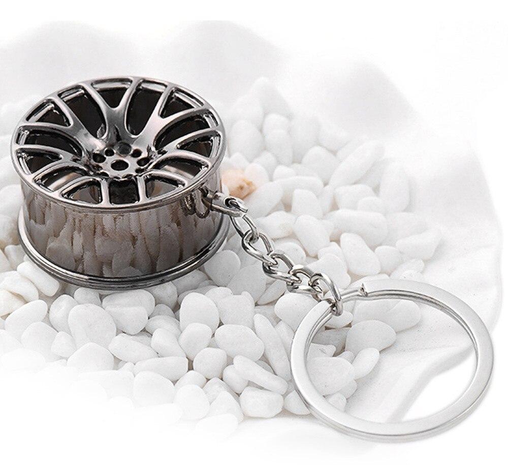 2017 3 Цветов Автомобилей Key Chain Авто Стайлинг Брелок Брелок для Висячие Украшения Сплава Кольцо Для Ключей Автомобильные Аксессуары