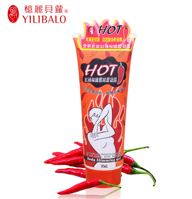 5th generation 4 pcs/lot chili cream cranberry 85ML YILI BOLO BODY CHILI SLIMMING GEL CREAM Weight Loss products