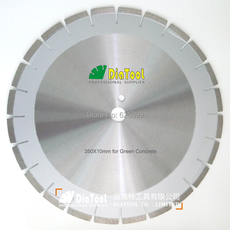 DIATOOL Professioal Laser Welded 350MM 14 Diamond Blades For Green Concrete Cutting Disc Asphalt Saw Blade Diamond Wheel Disk diamond cutting blade 100 2 5 16 authentic wheel film disc page 6