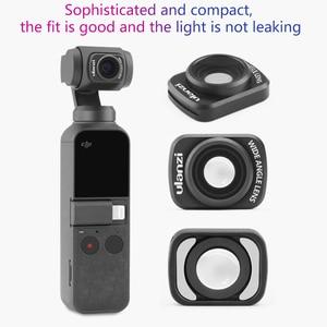 Image 4 - Ulanzi OP 5 Groothoek Lens Voor Dji Osmo Pocket, Magnetische Wide Angel Camera Lens Voor Dji Osmo Pocket Accessoires