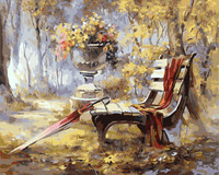 Scenery DIY Oil Painting Frameless Paint On Canvas Modern Wall By Numbers Pictures For Living Room