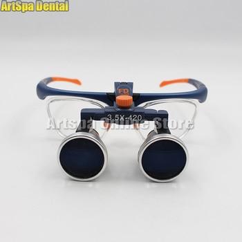 3.5X420mm Binocular Galileo Frame Loupe Magnifier Glasses FD-503G Hot Sale