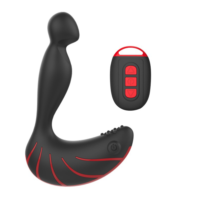 ФОТО New vibrating butt plug male prostata massage vibrating silicone anal plug wireless control prostate massager buttplug for men