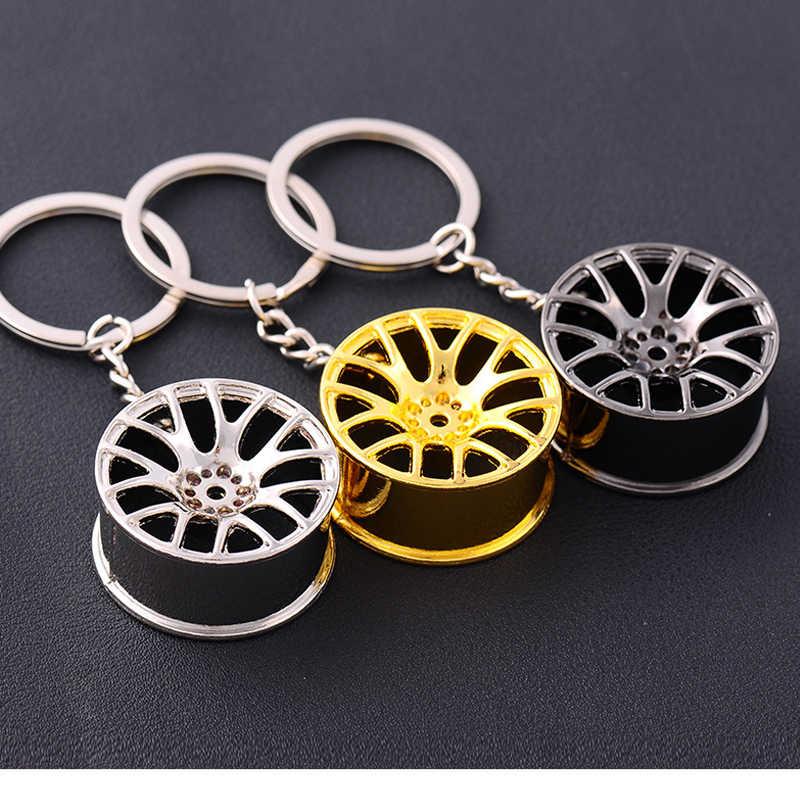 Автомобильный брелок для автомобильных шин, стильный Креативный Мини-Автомобильный ключ, брелок для автомобильных ключей, брелок для Эмблема Для BMW VW AUDI Honda Ford, автостайлинг