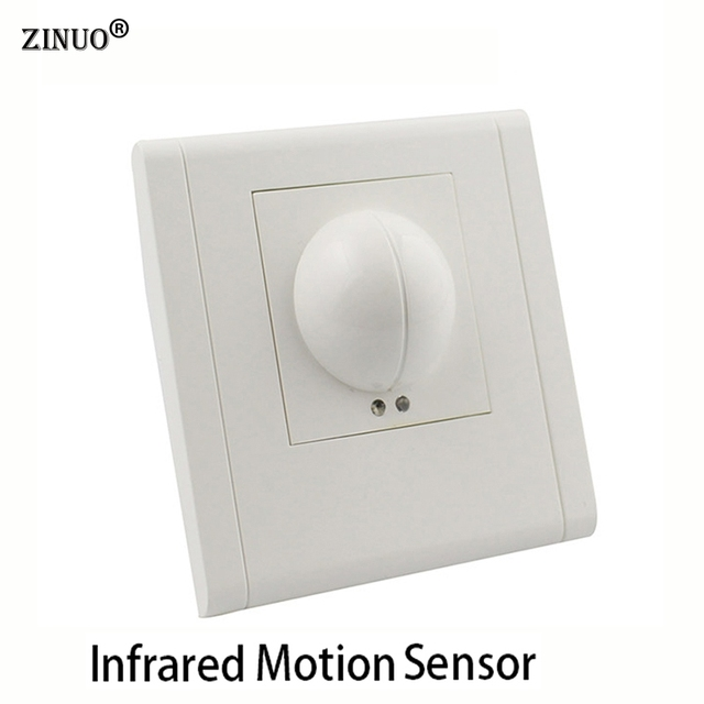 Zinuo 220v240v microwave radar infrared body motion sensor detector zinuo 220v240v microwave radar infrared body motion sensor detector light switch auto ceiling mounted aloadofball Gallery