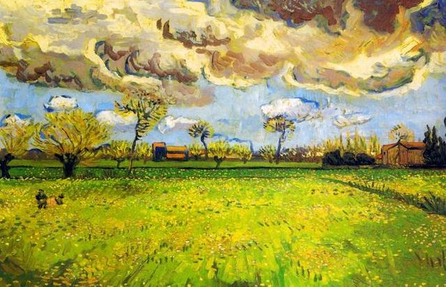 Aliexpress.com : Buy Vintage canvas pictures Harvest Day by Van Gogh ...