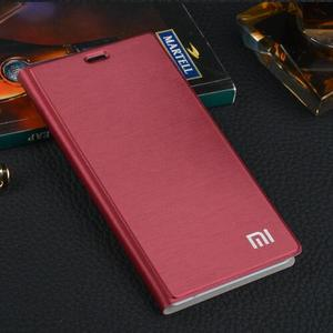 "Image 2 - Original xiaomi mi5 case xiomi mi 5 pro prime case cover flip case xiaomi mi 5 cover PU leather +hard PC back coque luxury 5.15"""