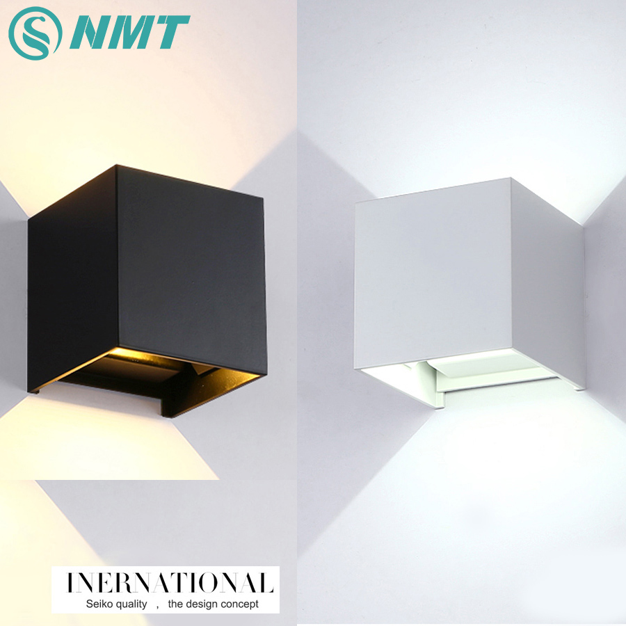 Online buy wholesale decorative wall cubes from china decorative waterproof cube modern cob led light home lighting decoration wall lamp aluminum ac 220v outdoor wall amipublicfo Image collections